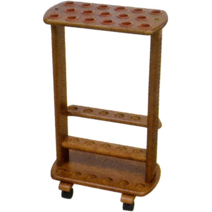 介護雑貨・生活支援用品 木製杖用ディスプレイ台 【幸和製作所】 【D50】
