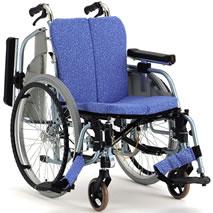 車椅子 車いす 自走式車椅子 松永製作所 REM-1000 アルミ製車いす 立体クッション付き 【アルミ製車椅子】 【プレゼント 贈り物 ギフト】【介護】