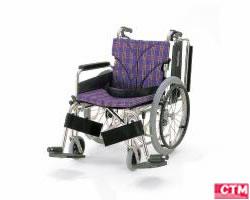 車椅子 車いす 自走式車椅子 カワムラサイクル KA820-38・40・42B-M アルミ製車いす 【アルミ製車椅子】 【敬老の日】 【プレゼント】