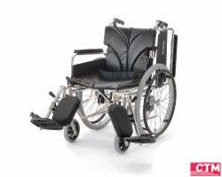 車椅子 車いす 自走式車椅子 カワムラサイクル KA820-38・40・42ELB-M アルミ製車いす 【アルミ製車椅子】 【プレゼント 贈り物 ギフト】【介護】