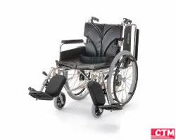 車椅子 車いす 自走式車椅子 カワムラサイクル KA822-38・40・42ELB-H アルミ製車いす 【アルミ製車椅子】 【敬老の日】 【プレゼント】