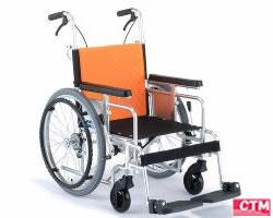 車椅子 車いす 自走式車椅子 日進医療器 NA-35L アルミ製車いす 【アルミ製車椅子】 【プレゼント 贈り物 ギフト】【介護】