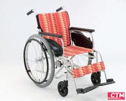 車椅子 車いす 自走式車椅子 日進医療器 NA-406A アルミ製車いす 【アルミ製車椅子】 【プレゼント 贈り物 ギフト】【介護】