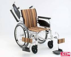 車椅子 車いす 自走式車椅子 日進医療器 NA-406W アルミ製車いす 【アルミ製車椅子】 【プレゼント 贈り物 ギフト】【介護】