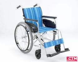 車椅子 車いす 自走式車椅子 日進医療器 NA-446A アルミ製車いす 【アルミ製車椅子】 【プレゼント 贈り物 ギフト】【介護】