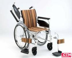 車椅子 車いす 自走式車椅子 日進医療器 NA-446W アルミ製車いす 【アルミ製車椅子】 【プレゼント 贈り物 ギフト】【介護】