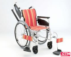 車椅子 車いす 自走式車椅子 日進医療器 NA-466W アルミ製車いす 【アルミ製車椅子】 【プレゼント 贈り物 ギフト】【介護】