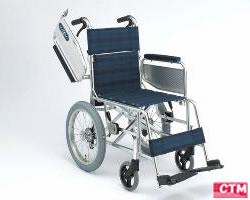 車椅子 車いす 介助式車椅子 日進医療器 NAH-205U アルミ製車いす 【アルミ製車椅子】 【プレゼント 贈り物 ギフト】【介護】