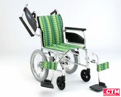 車椅子 車いす 介助式車椅子 日進医療器 NAH-446W アルミ製車いす 【アルミ製車椅子】 【プレゼント 贈り物 ギフト】【介護】