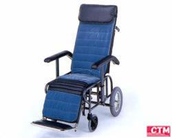 車椅子 車いす リクライニング式車椅子介助式 松永製作所 フルリクライニング車椅子2型 スチール製車いす 【スチール製車椅子】