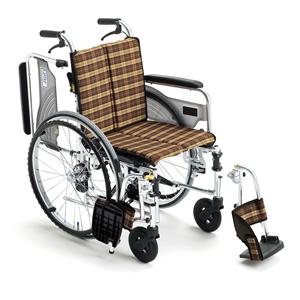 車椅子 車いす 自走式車椅子 Skit ウイング スイング SKT-4 アルミ製車いす ミキ 【アルミ製車椅子】 【プレゼント 贈り物 ギフト】【介護】