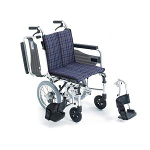 車椅子 車いす 介助式車椅子 Skit ウイング スイング アルミ製車いす SKT-2 ミキ 【アルミ製車椅子】 【プレゼント 贈り物 ギフト】【介護】