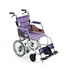 車椅子 車いす 介助式車椅子 Skit SKT-1 アルミ製車いす ミキ 【アルミ製車椅子】 【プレゼント 贈り物 ギフト】【介護】