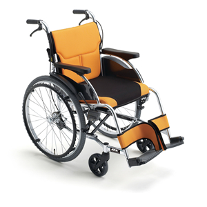 車椅子 車いす 自走式車椅子 RXseries RX-1 アルミ製車いす ミキ 【アルミ製車椅子】 【プレゼント 贈り物 ギフト】【介護】