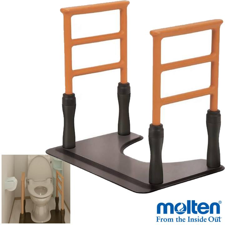 ポータブルトイレ トイレ用手すり(和風改造用腰掛便器用) 【TOTO】 【EWC211BR】 【送料無料】