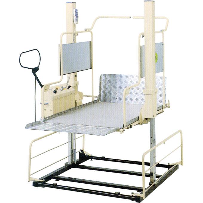住宅改修 車椅子用電動昇降機 1200mm仕様 【いうら】 【UD-550】 【送料無料】