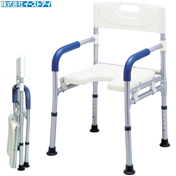 入浴用品 すま~いるコンパクト シャワーベンチ 【イーストアイ】 【FCRS】 【送料無料】