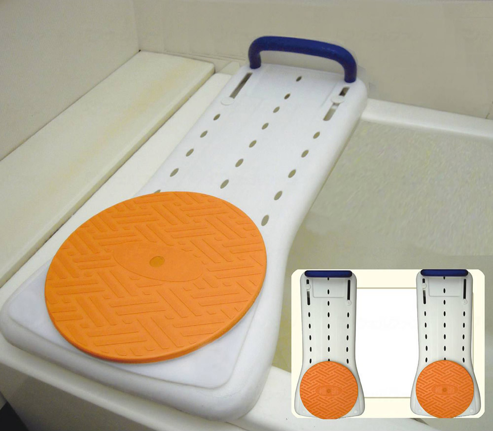 入浴用品 福浴 回転バスボード樹脂74 【サテライト】 【FKB-02-74】 【送料無料】