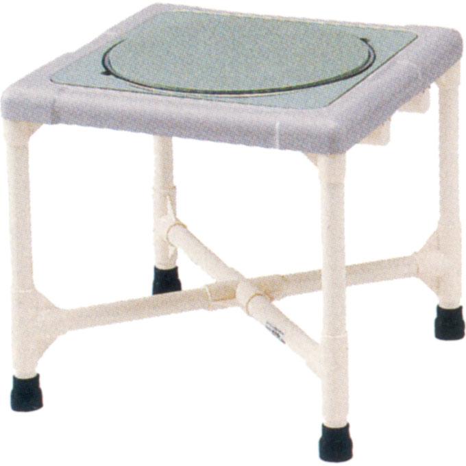 入浴用品 シャワーいす F型 ターンテーブルタイプ(大) 【矢崎化工】 【CAT-0201】 【送料無料】