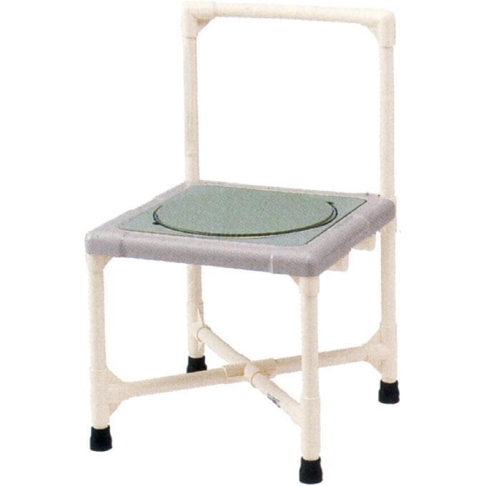 入浴用品 シャワーいす 背もたれ型 ターンテーブルタイプ(大) 【矢崎化工】 【CAT-0301】 【送料無料】