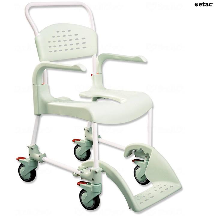 入浴用品 etac トイレット・シャワー用車椅子 クリーン 本体 【相模ゴム工業】 【RT1200】 【送料無料】