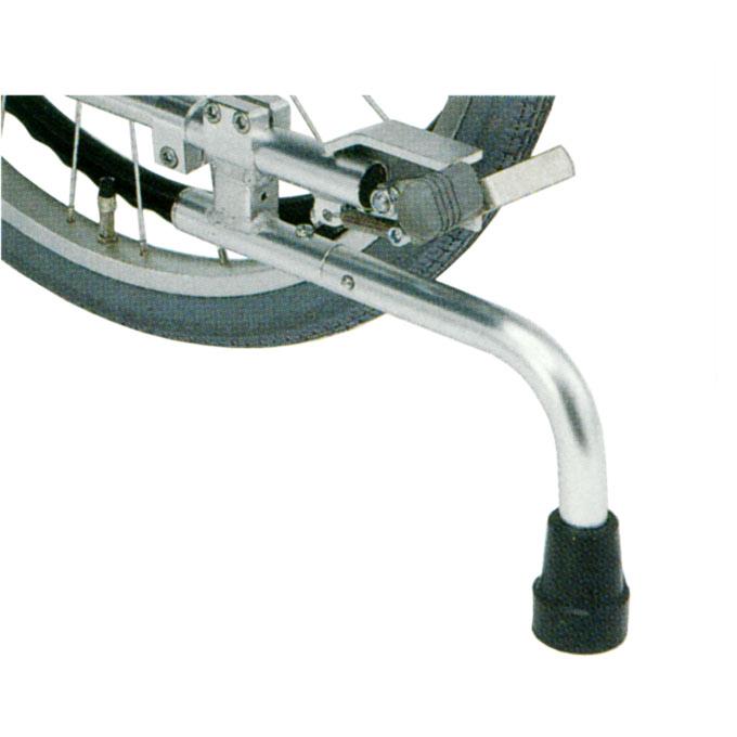 車椅子(車いす) 回転式転倒防止装置付 足踏み式ブレーキ 24~18インチ車輪用 【日進医療器】 【KF-31L】