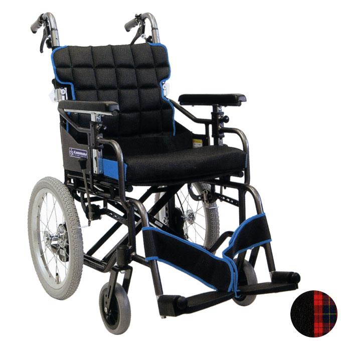 車椅子(車いす) 標準型モジュール車いす 介助用 【カワムラサイクル】 【KM16-40SB-SL KM16-42SB-SL】 【プレゼント 贈り物 ギフト】【介護】