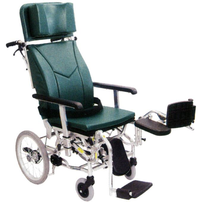 車椅子(車いす) ティルト&リクライニング車いす モジュールタイプ 介助用 【カワムラサイクル】 【KXL16-42EL】
