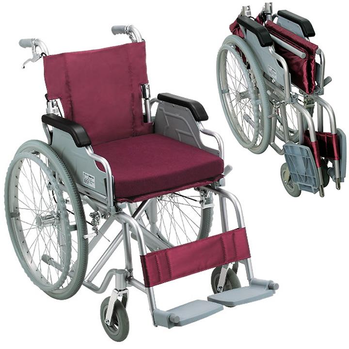 車椅子(車いす) アルミ製車いす 【幸和製作所】 【S-15】 【送料無料】 【プレゼント 贈り物 ギフト】【介護】