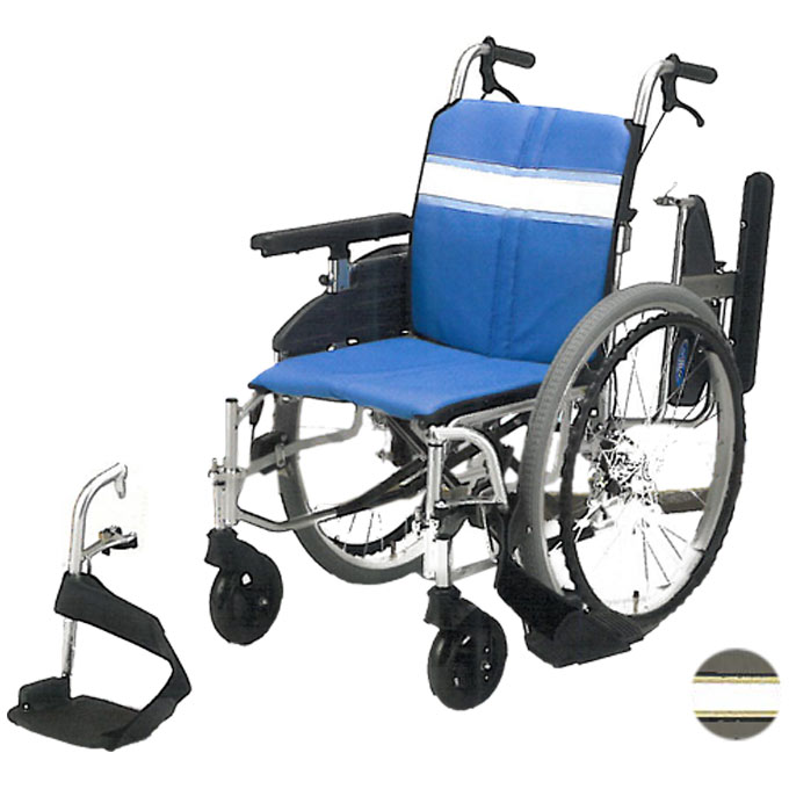 車椅子(車いす) 自走用 【日進医療器】 【NA-3DX】 【プレゼント 贈り物 ギフト】【介護】