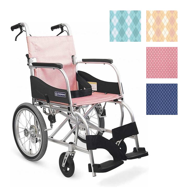 車椅子(車いす) ふわりす 【カワムラサイクル】 【KF16-40SB】 【プレゼント 贈り物 ギフト】【介護】