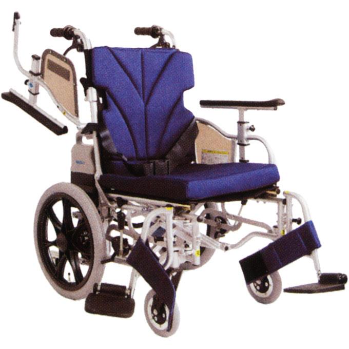 車椅子(車いす) 介助者アシスト電動車いす 【カワムラサイクル】 【KZ16-38-LO-ABF2/AW KZ16-40-LO-ABF2/AW】