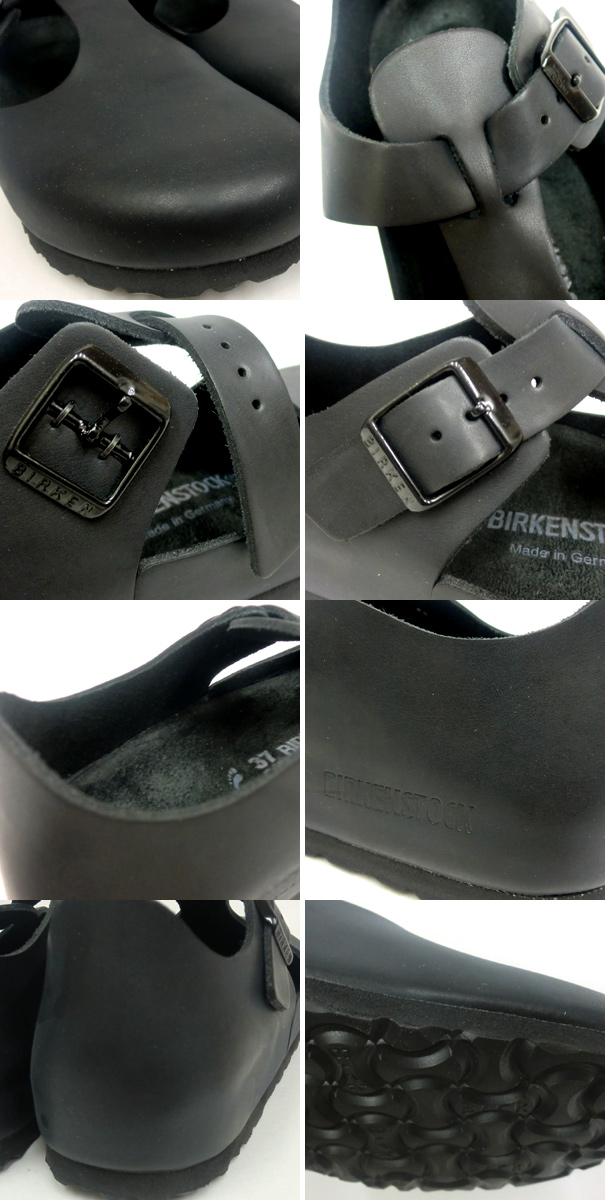 Regular agency handling goods by Birkenstock Paris comfort shoes BIRKENSTOCK, PALIS, 065513, 22.5cm-25.5cm Hunter Black coordinate T strap