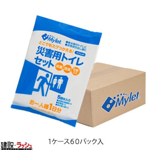 【まいにち】 災害用簡易トイレ処理セット マイレットP-300(50回×6パック)