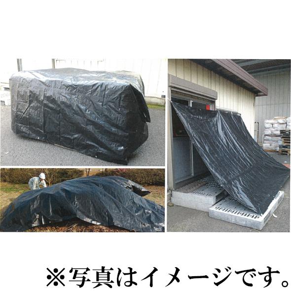 【モリリン】 耐候性シート 千尋UVスーパーブラックシート ♯2500 10mx10m [1枚入],NETIS登録商品[KK-150021A]