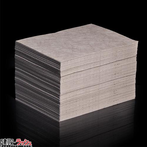 【ピグ pig】 油専用ブラウンマットパッド ライトウェイト 51x38cm 200枚 [MAT504]