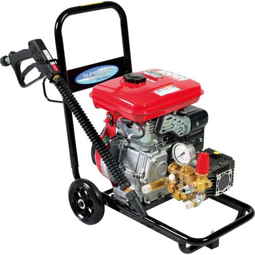 【スーパー工業】 エンジン式高圧洗浄機 コンパクトカート型 [SEC-1310-2]