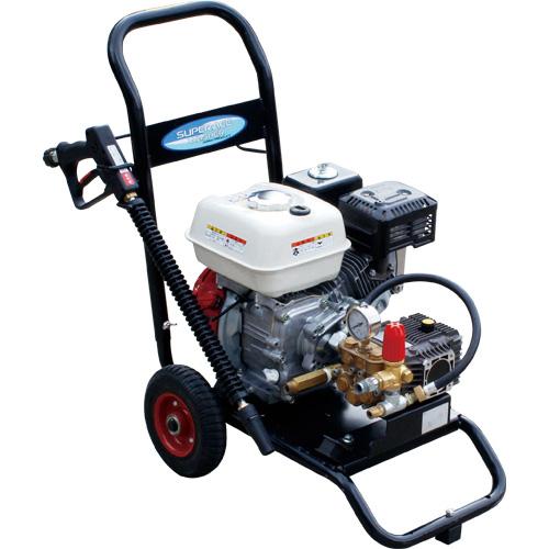 【スーパー工業】 エンジン式高圧洗浄機 コンパクト&カート型 [SEC-1315-2]