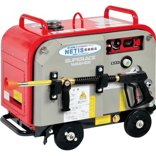 【スーパー工業】 エンジン式高圧洗浄機 防音型 [SEV-3007SS],NETIS登録商品 [CG-130007-A]