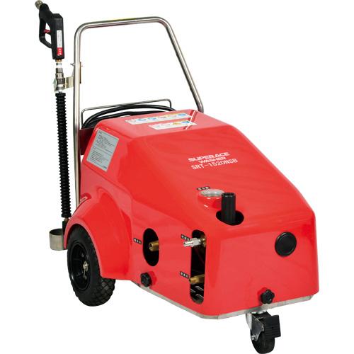 【スーパー工業】 モーター式高圧洗浄機 200Vコンパクト型 [SRT-1520NSB]