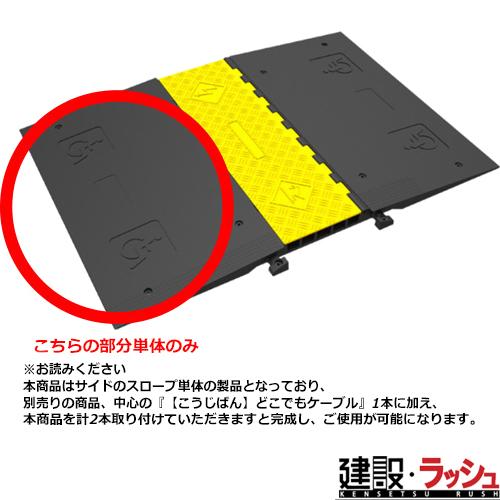 【こうじばん】バリアフリー・スロープ (外付け) 1個 サイズ:900mm×495mm