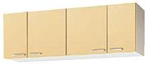クリナップ 【木キャビキッチンさくら ショート吊戸棚(棚板1段) 間口150cm W■■■-150】■は色品番