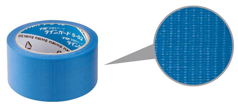 フクビ 床養生テープ ラインガードS-02 幅38mm×長さ25m LGS0238 36巻入