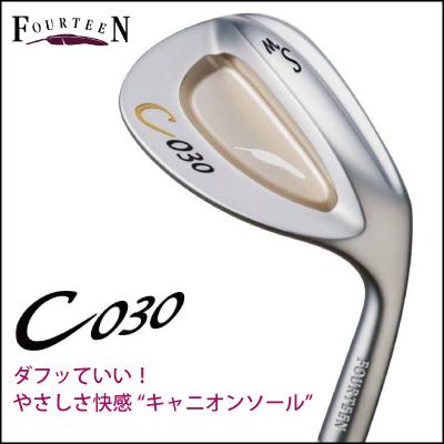 【がんばるべ岩手】 【FOURTEEN】 フォーティーン C-030 ウェッジ 【日本仕様】