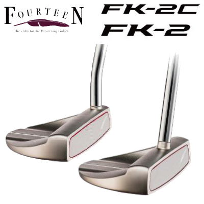 FOURTEEN フォーティーン ゴルフ パター FK-2 FK-2 C FK PUTTER センターシャフト 【日本正規品】