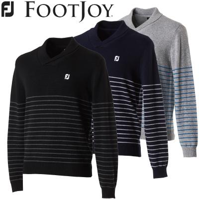 決算セール40%OFF【FOOTJOY】FJ-F17-M63フットジョイ アパレルショールカラーセーターゴルフ ウェア 2017年 秋冬モデル