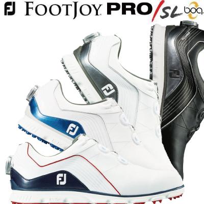 【がんばるべ岩手】【FOOTJOY】フットジョイ ゴルフシューズNEW FJ Pro/SL Boa プロSL ボア メンズ 【日本正規品】