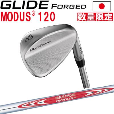 ポイント10倍 PING 販売実績NO.1 PING ピン ゴルフ GLIDE FORGED グライド フォージド ウェッジ NSPRO モーダス3ツアー120※左用 レフティー 日本仕様