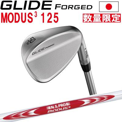 ポイント10倍 PING 販売実績NO.1 PING ピン ゴルフ GLIDE FORGED グライド フォージド ウェッジ NSPRO モーダス3ツアー125※左用 レフティー 日本仕様