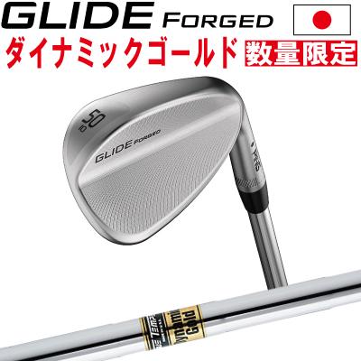 ポイント10倍 PING 販売実績NO.1 PING ピン ゴルフ GLIDE FORGED グライド フォージド ウェッジ ダイナミックゴールド DG スチール※左用 レフティー 日本仕様